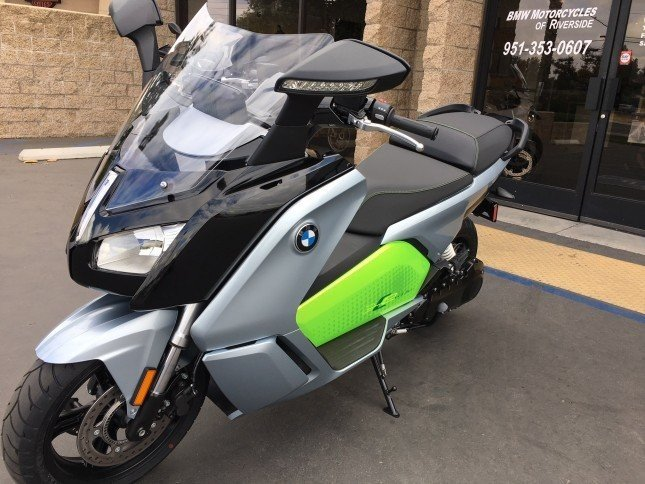 2018 BMW C evolution