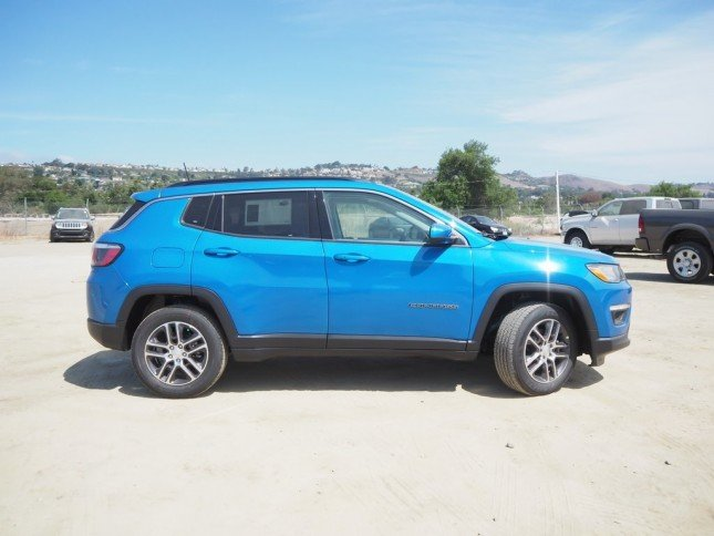 2018 JEEP COMPASS SUN & WHEEL FWD