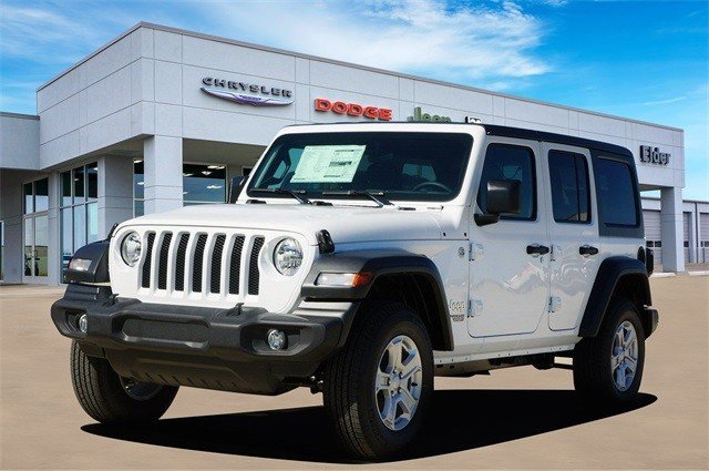 2020 JEEP WRANGLER UNLIMITED SPORT S 4X4