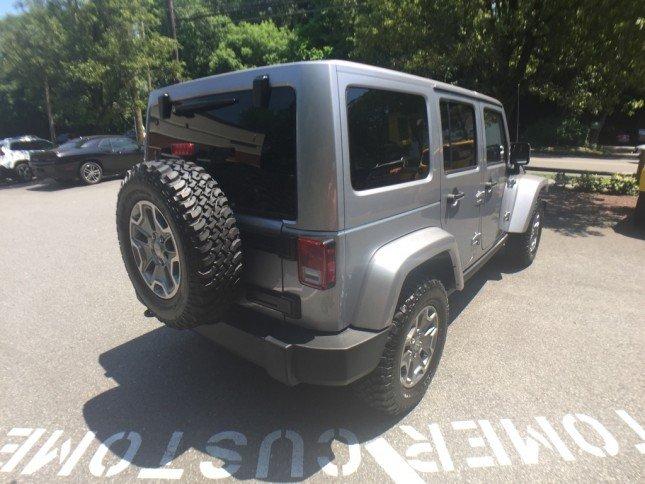 2016 Jeep Wrangler JK Unlimited Rubicon