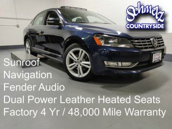2013 Volkswagen Passat TDI SEL Premium w/Sunroof & NAV