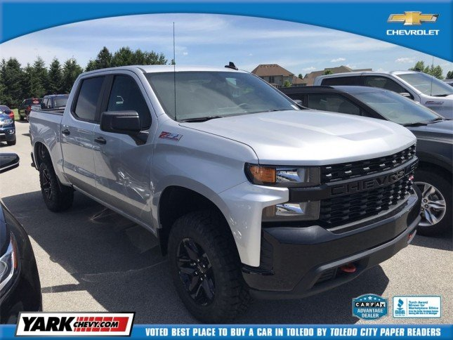 2019 Chevrolet Silverado All New 1500 Custom Trail Boss
