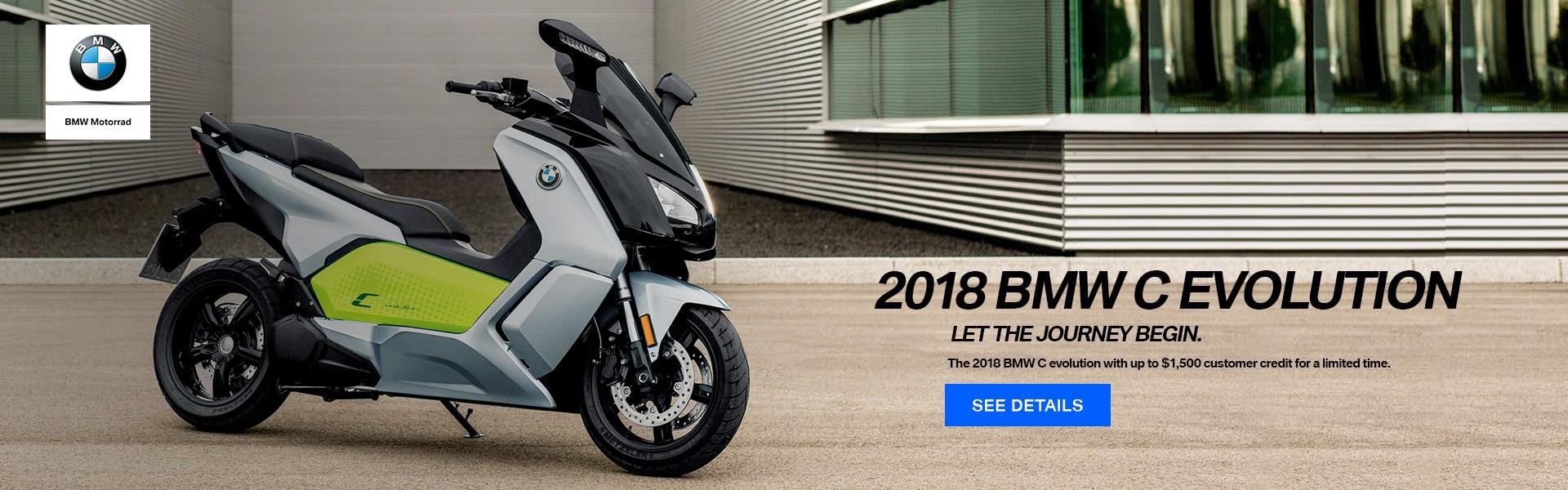 2018 BMW C EVOLUTION