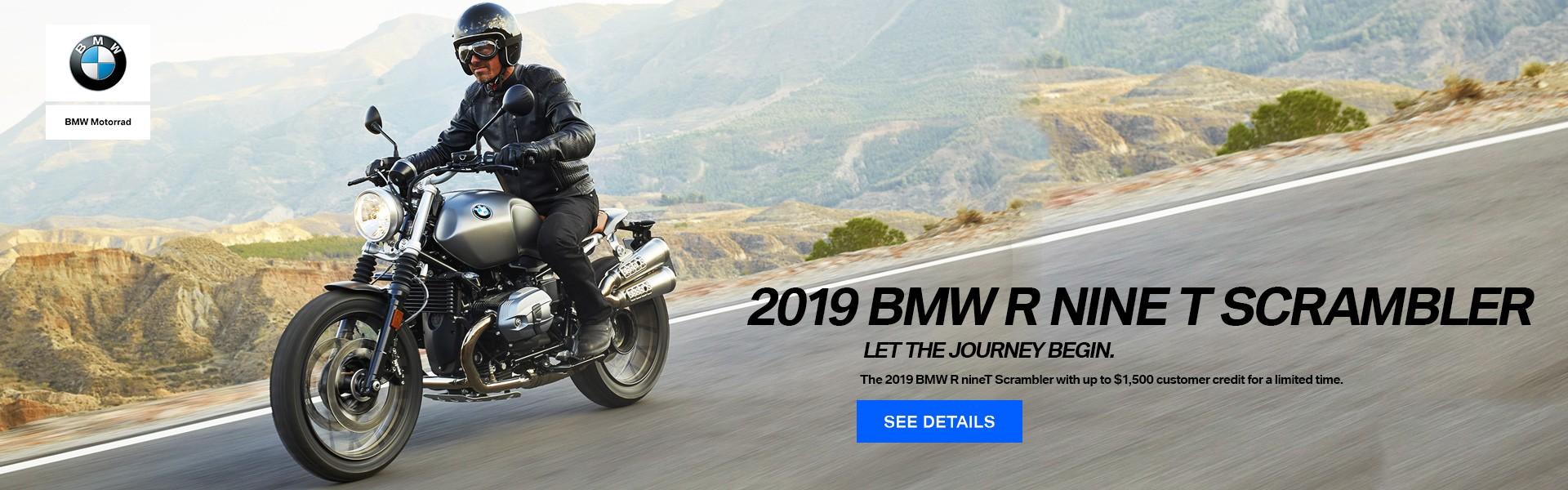 2019 BMW R NINE T SCRAMBLER