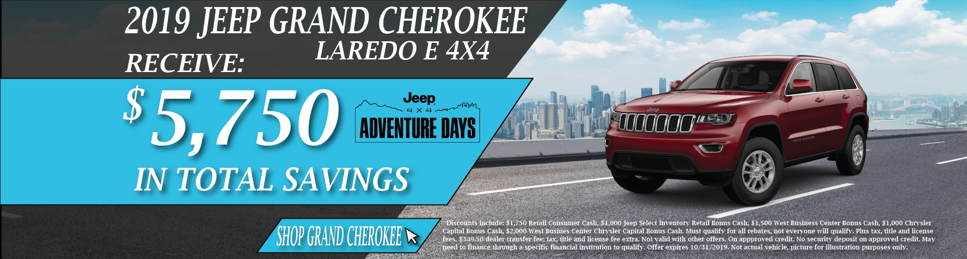 2019 Jeep Grand Cherokee October