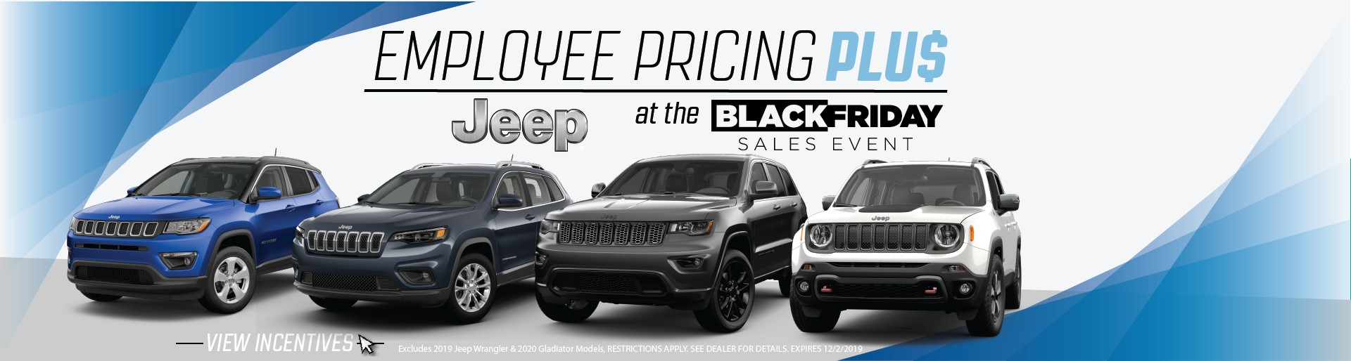 Jeep Employee Pricing Plus Lineup