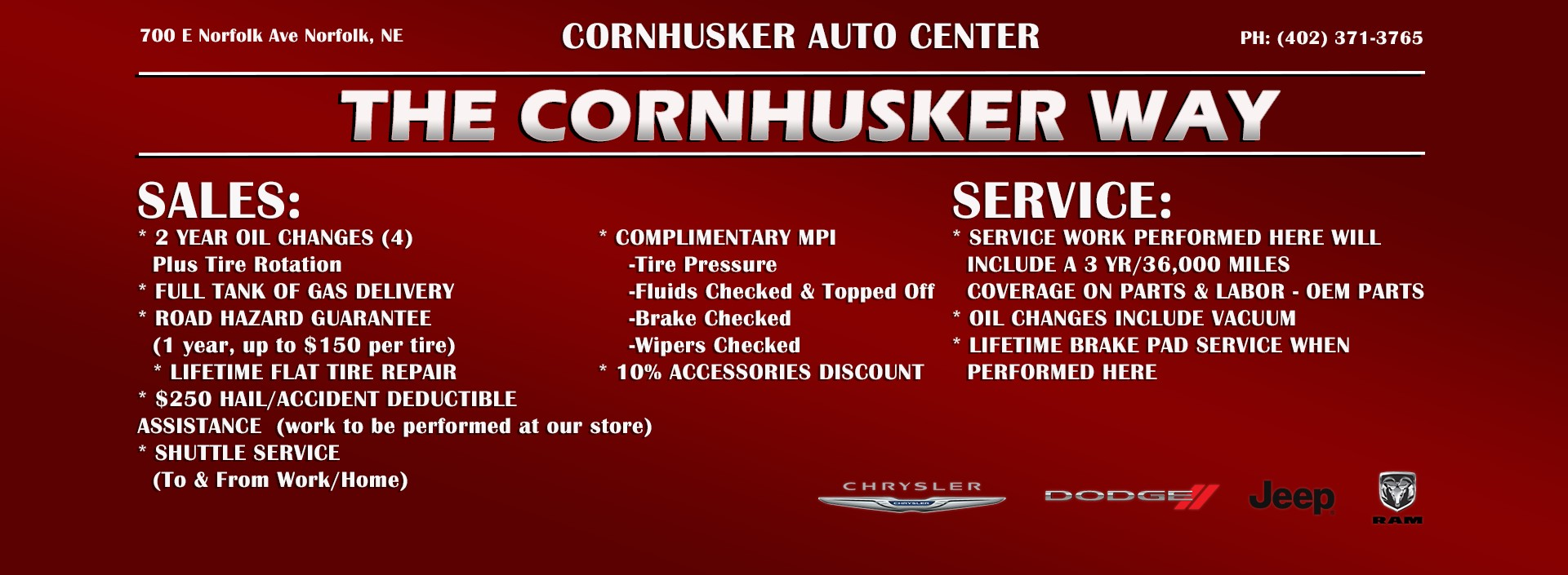 Cornhusker Way