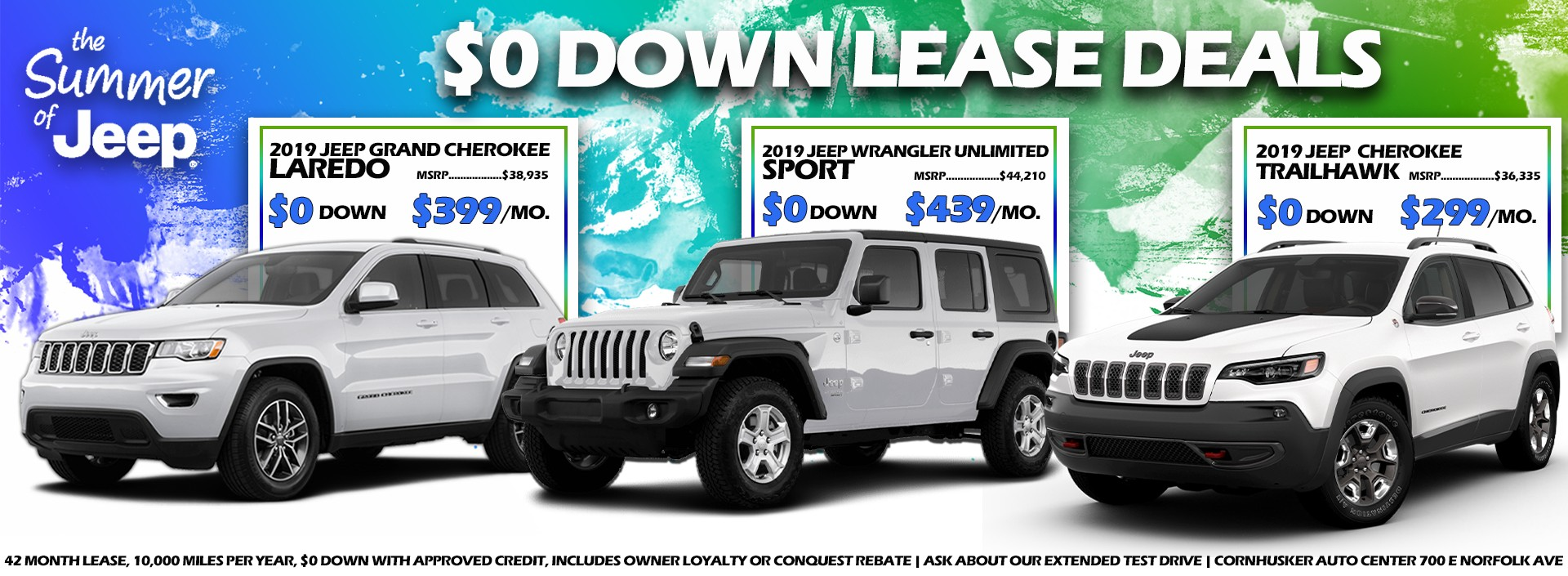 Jeep Lease Deals