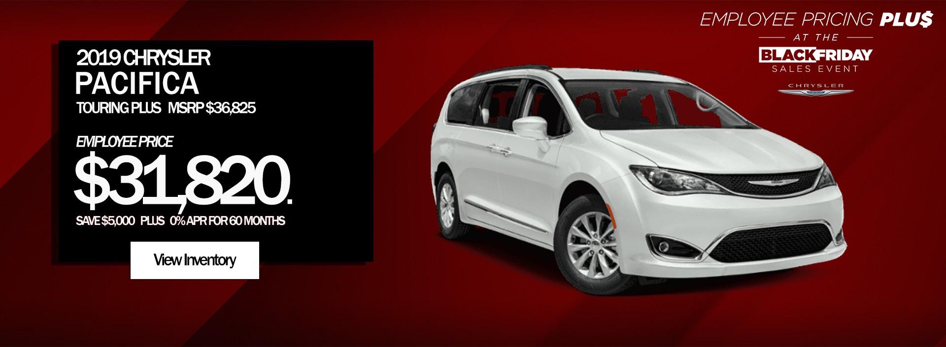 Chrysler Black Friday Deals