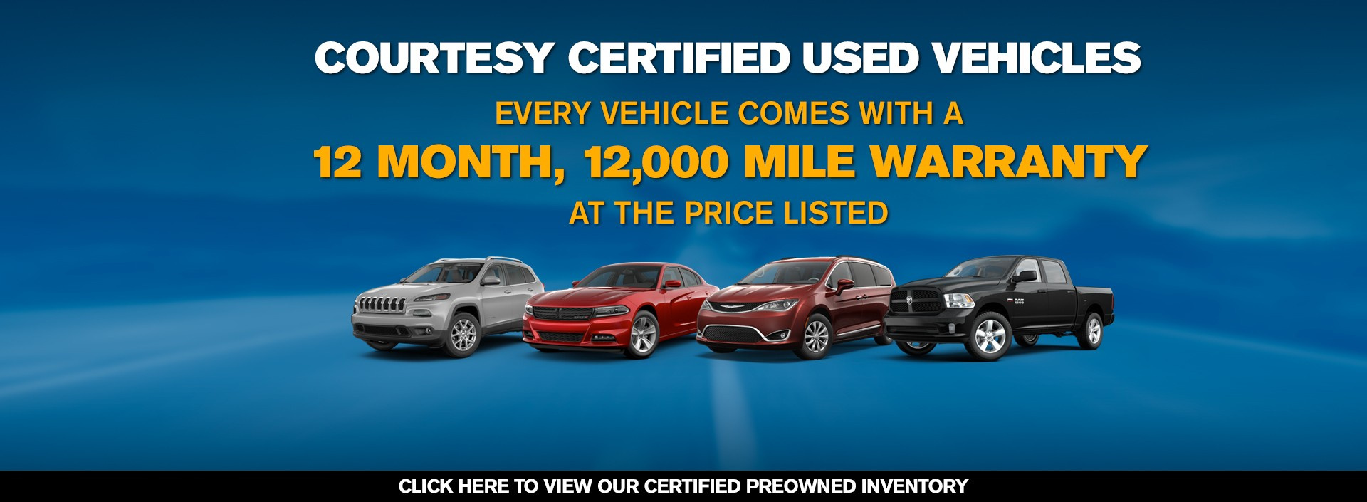 Courtesy Certified Used Vehicles