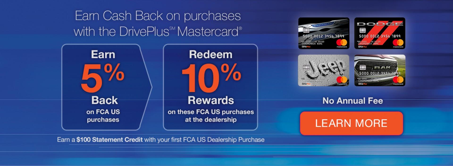 DrivePlus Mastercard