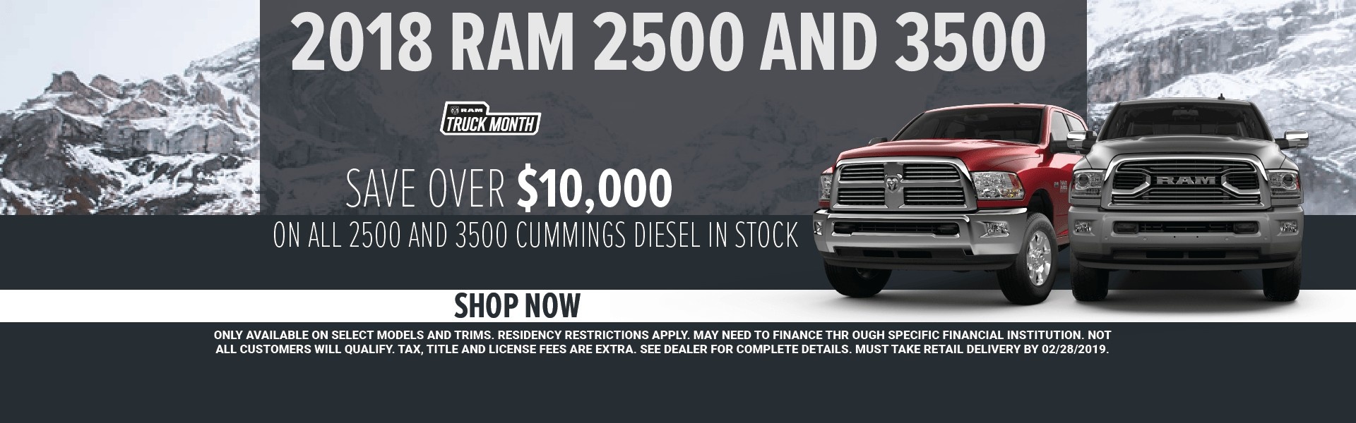 Ram 2500 and 3500
