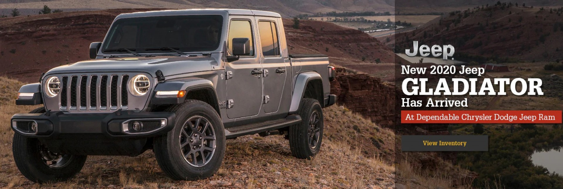 2020 Jeep Gladiator has arrived! View Inventory.