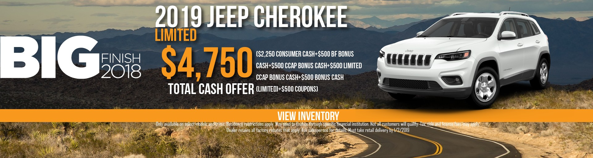 Van Horn Cherokee Decemeber 2018