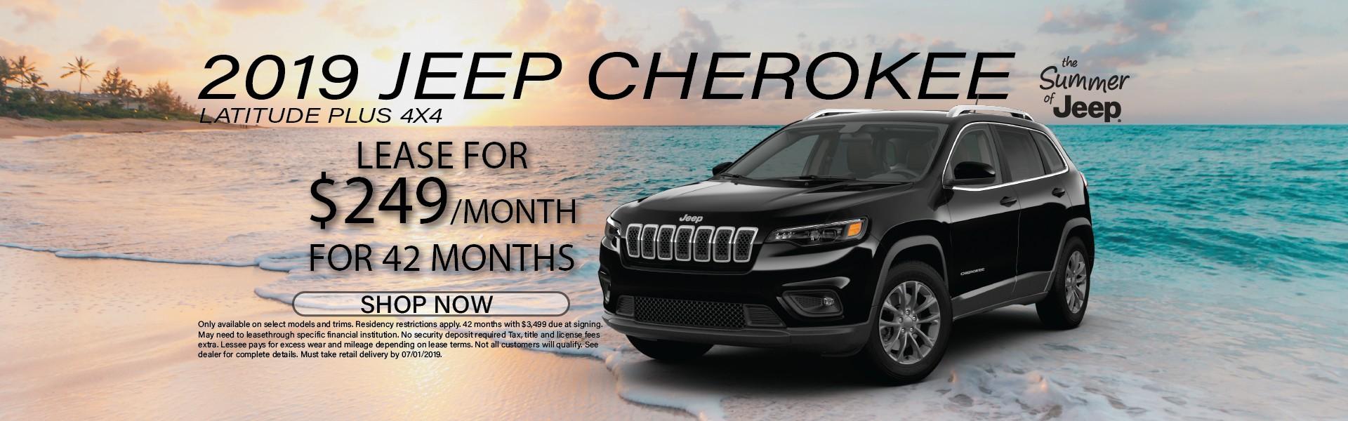 2019 Jeep Cherokee Lat Plus