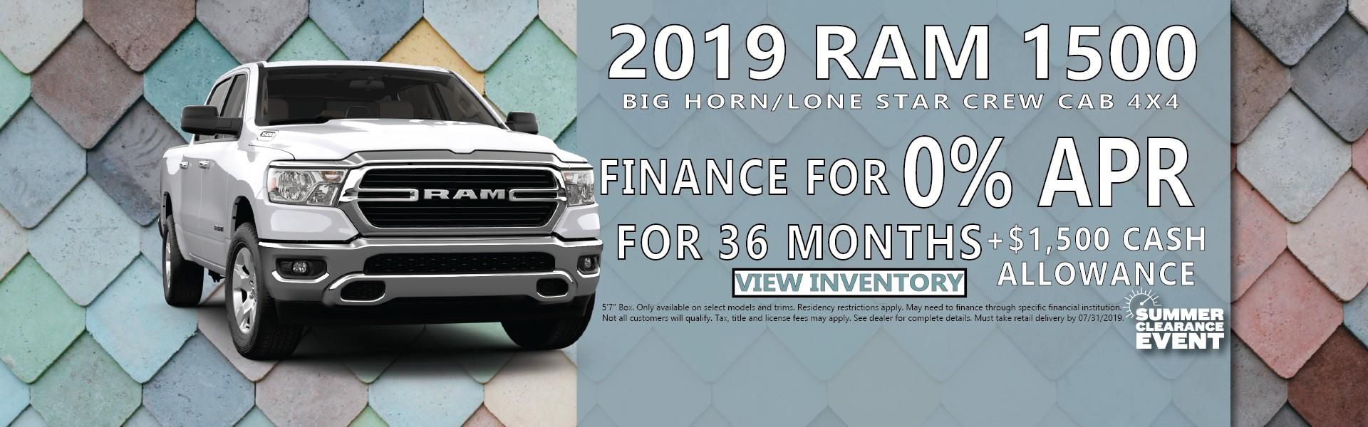 2019 Ram 1500 Van Horn