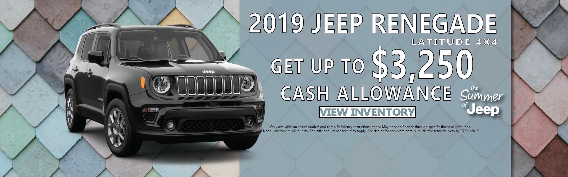 2019 Jeep Cherokee Van Horn