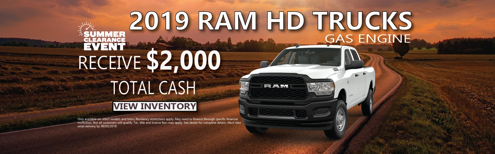2019 HD Trucks Finance Offer