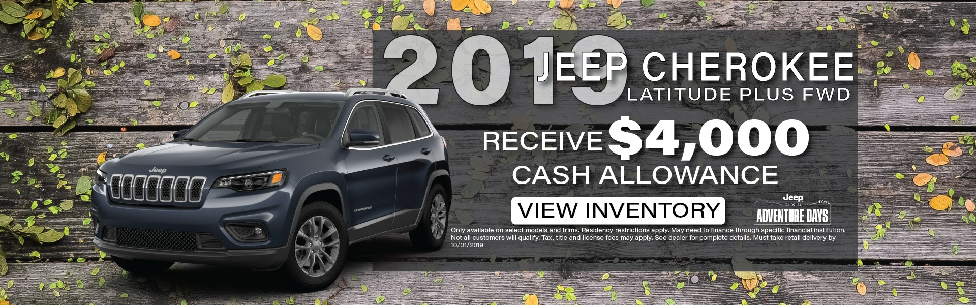 2019 Jeep Cherokee, Manitowoc WI