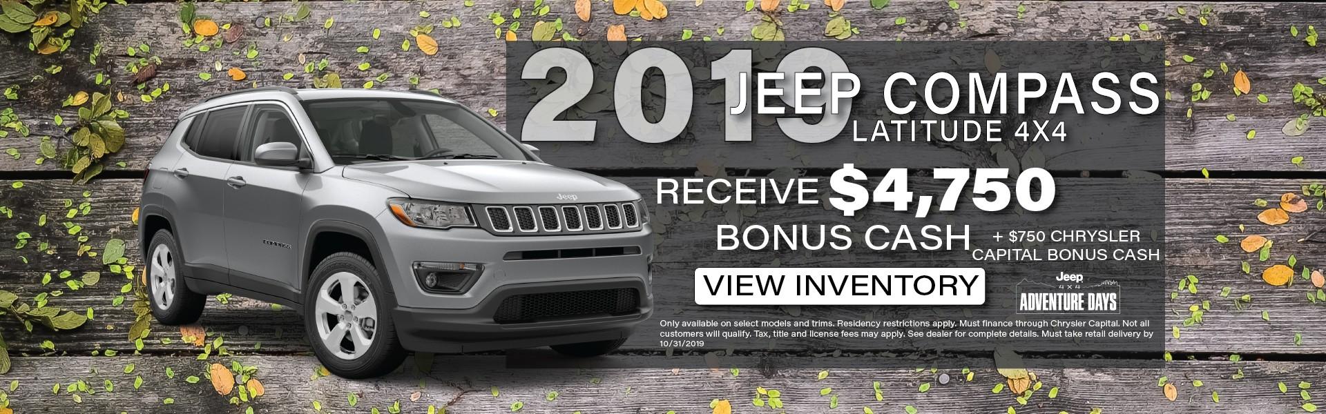 2019 Jeep Compass, Manitowoc WI