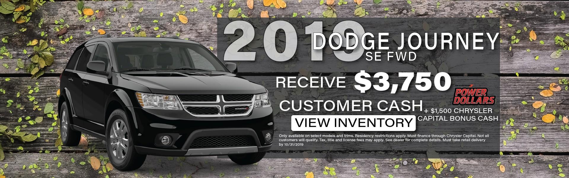 2019 Dodge Journey, Manitowoc WI