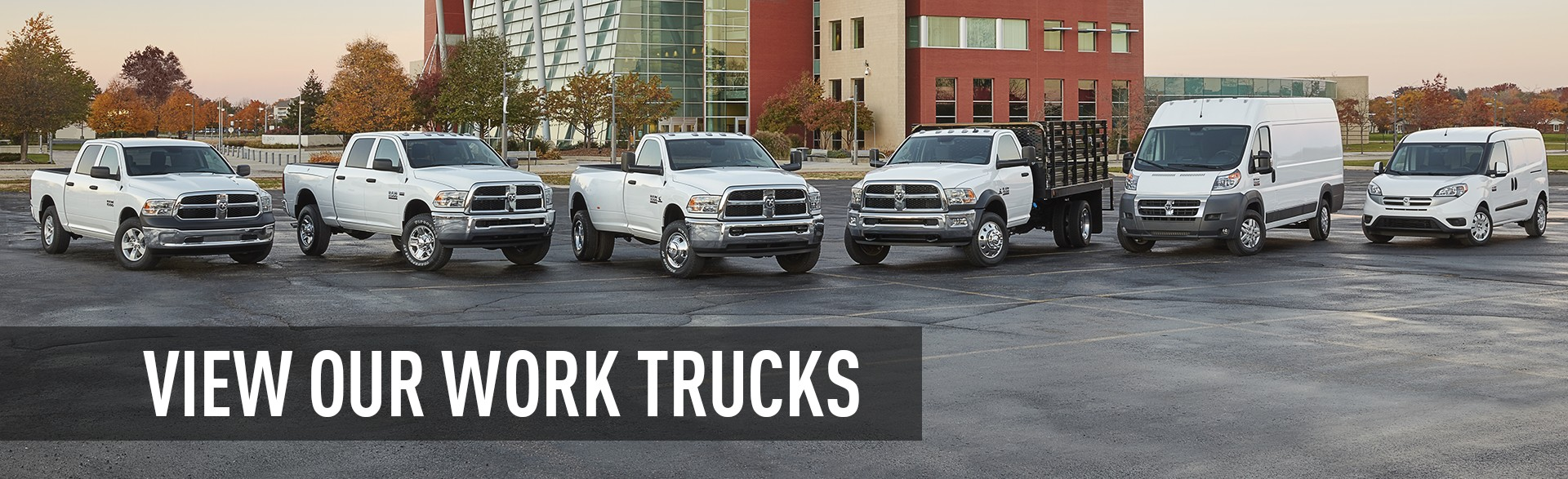 View Our Ram Work Trucks