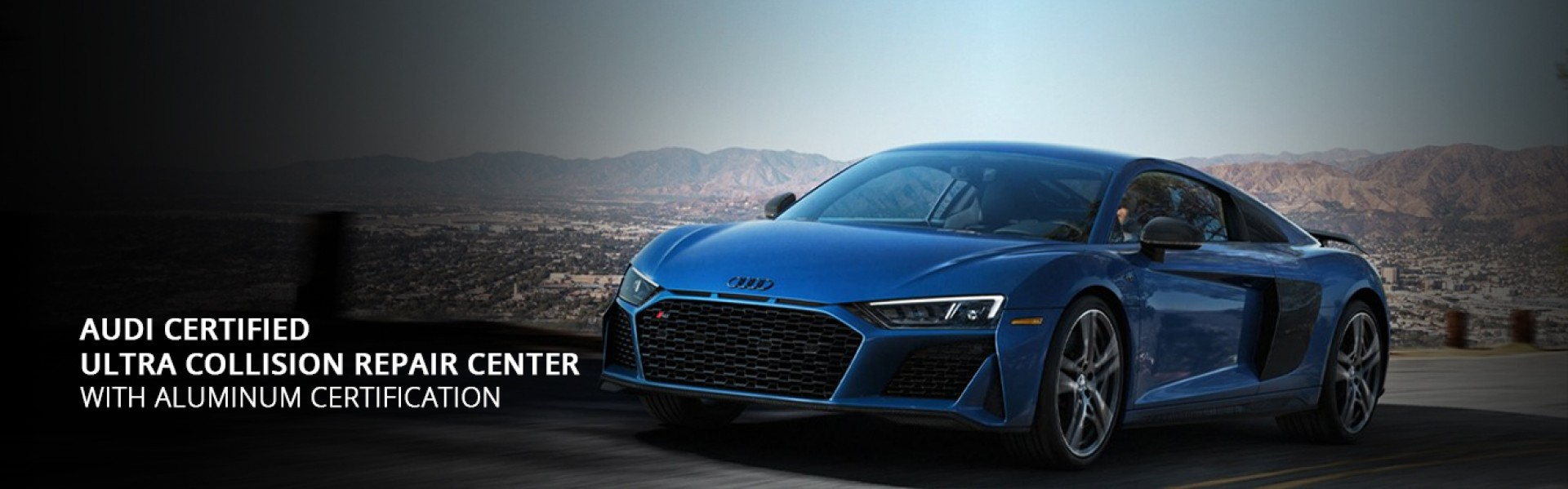 Audi Certified - Ultra Collision Repair Center with Aluminum Certification