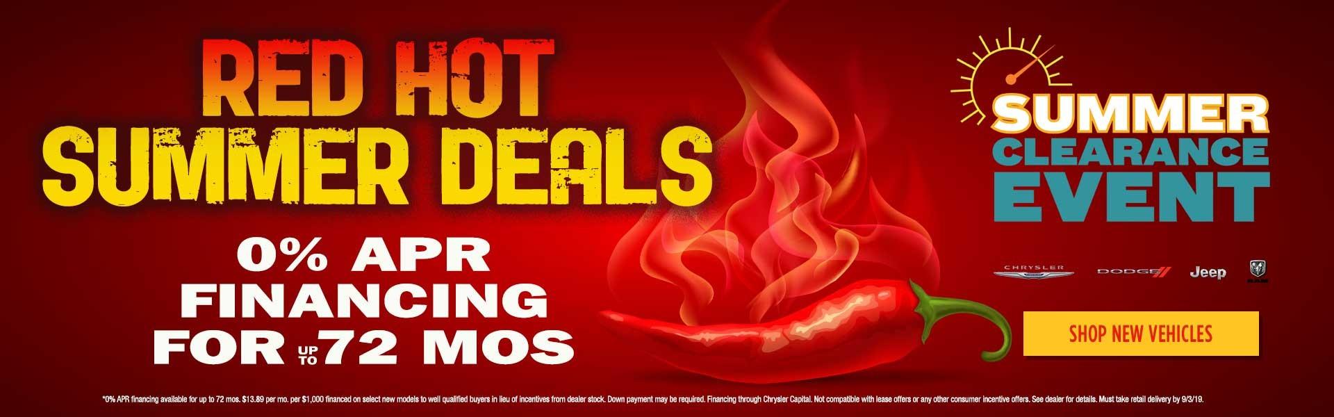 Red Hot Summer Deals