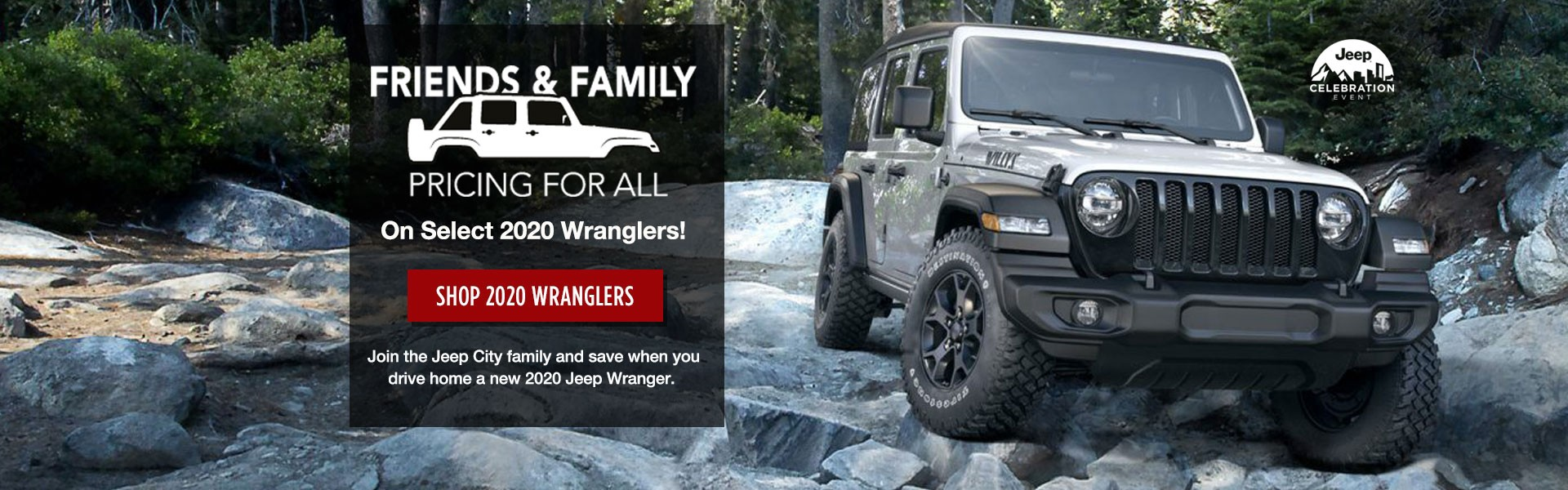 Wrangler Friends and Family Event