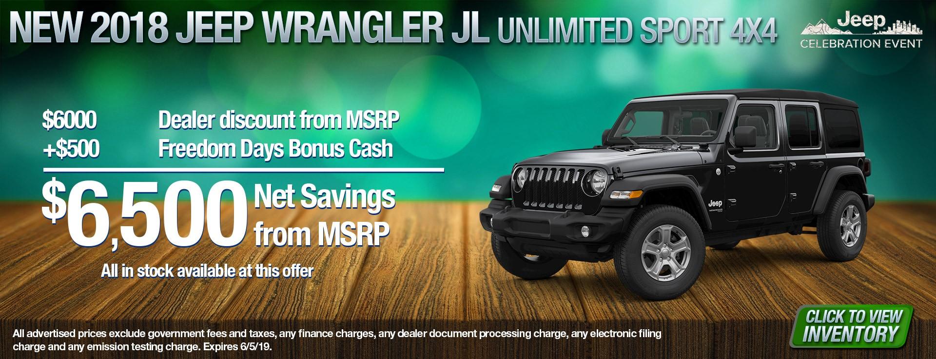 18 Jeep Wrangler