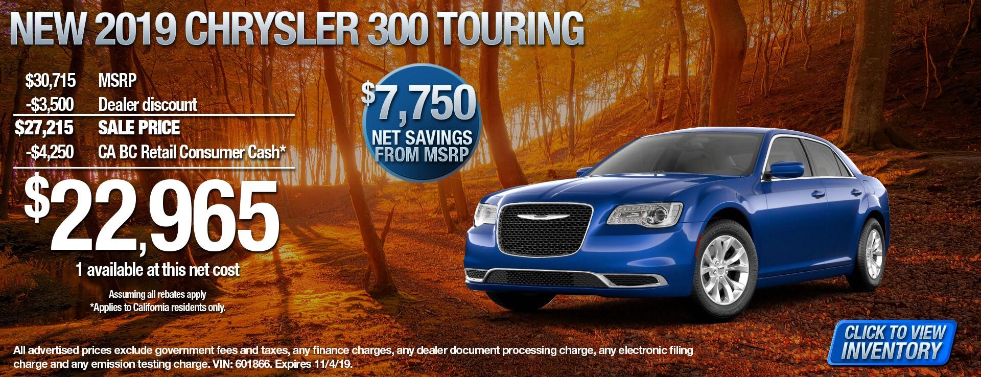 19 Chrysler 300