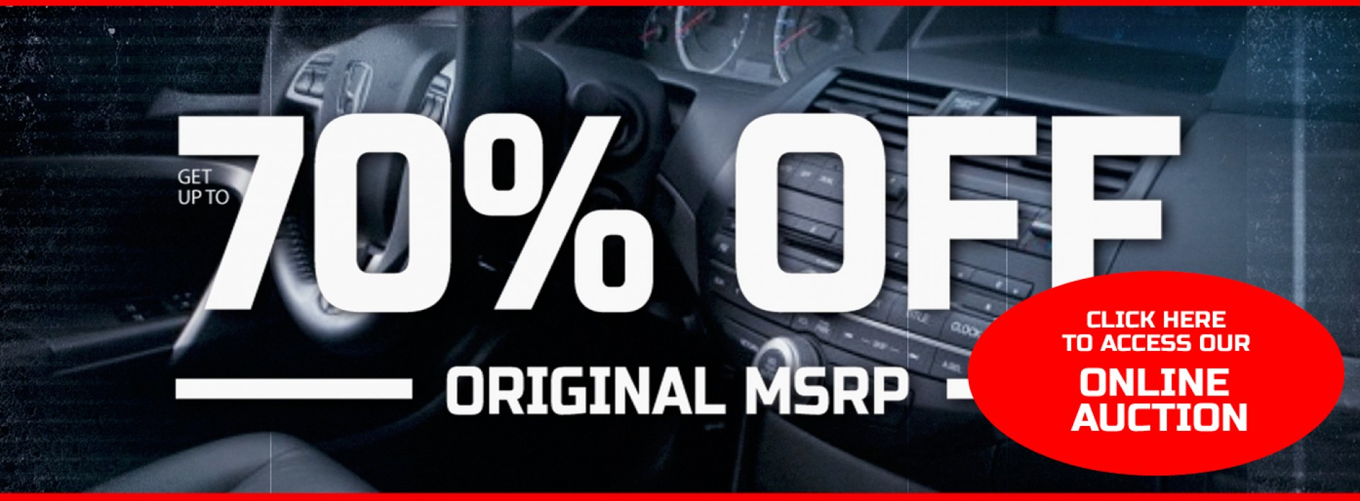 Get up to 70% OFF from original MSRP