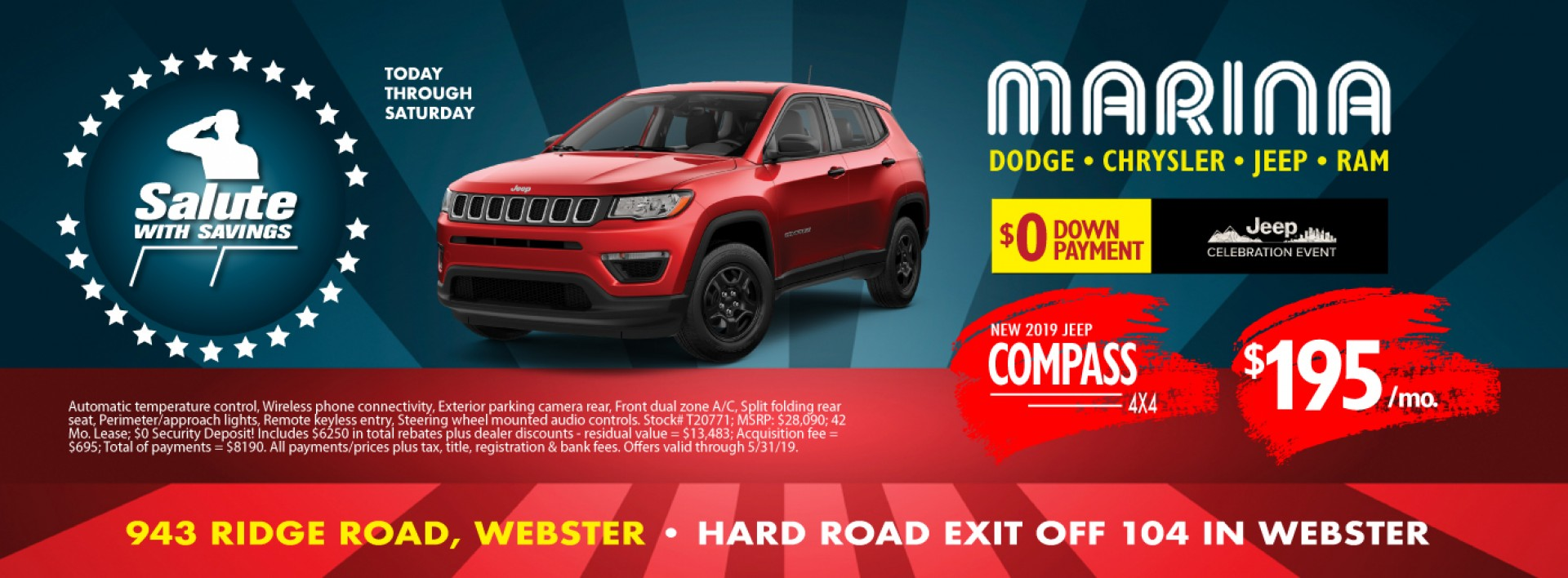 Jeep Compass May 2019