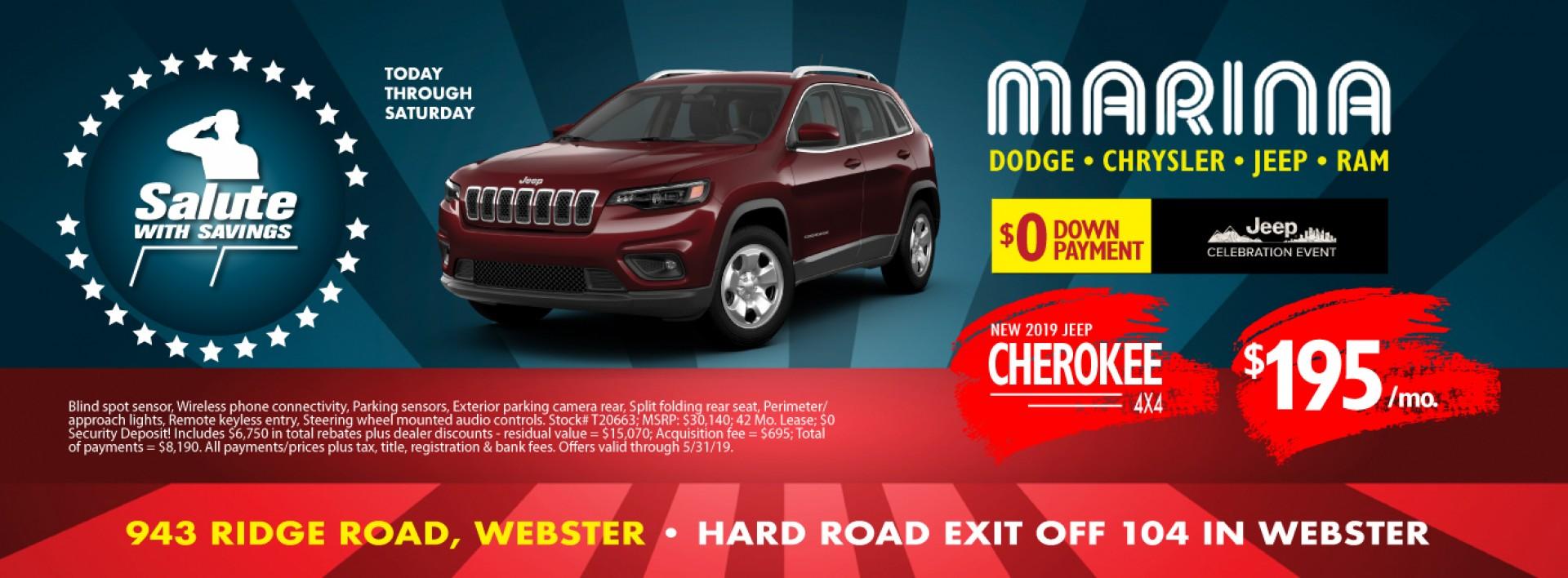 Jeep Cherokee May 2019