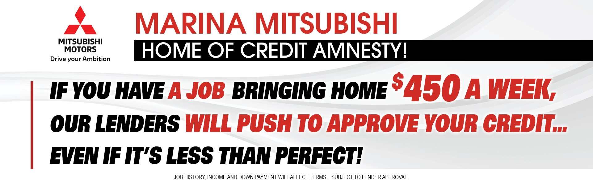 Marina Mitsubishi Home of Credit Amnesty