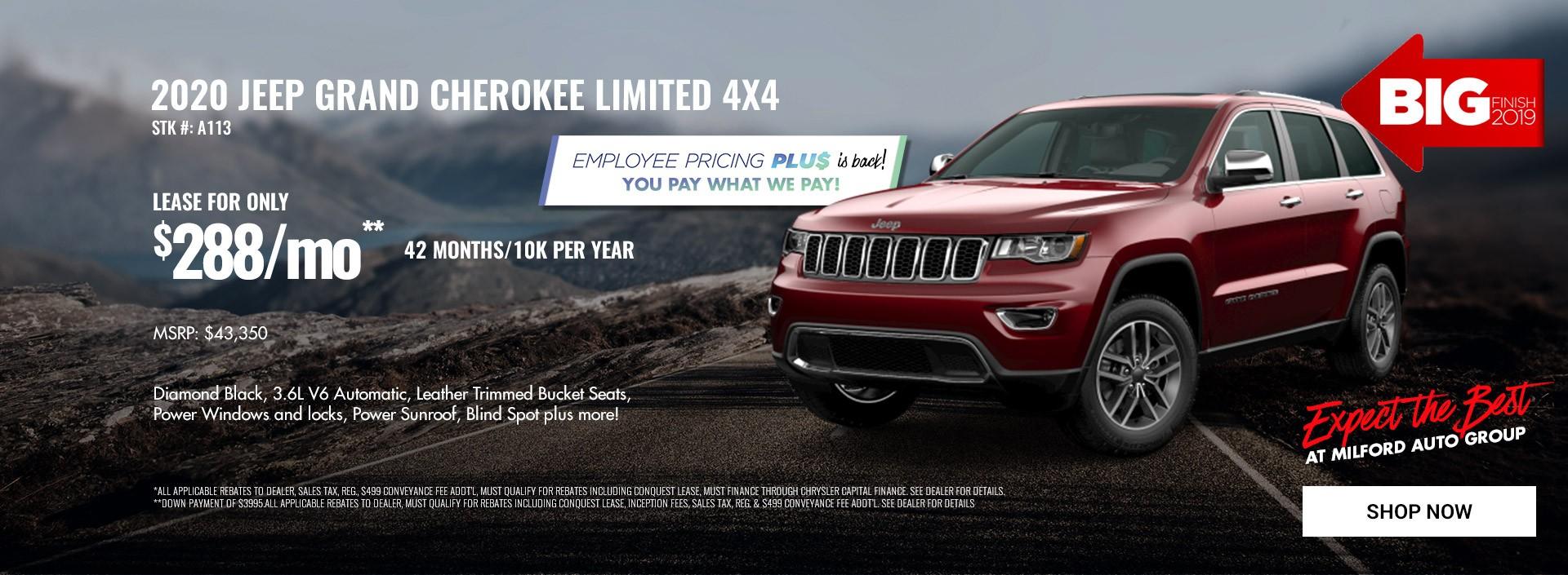 2020 Jeep Grand Cherokee Limited 4x4