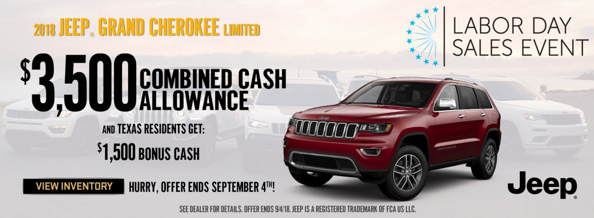 PrevNext. New Jeep SUV Models In Fort Worth ...