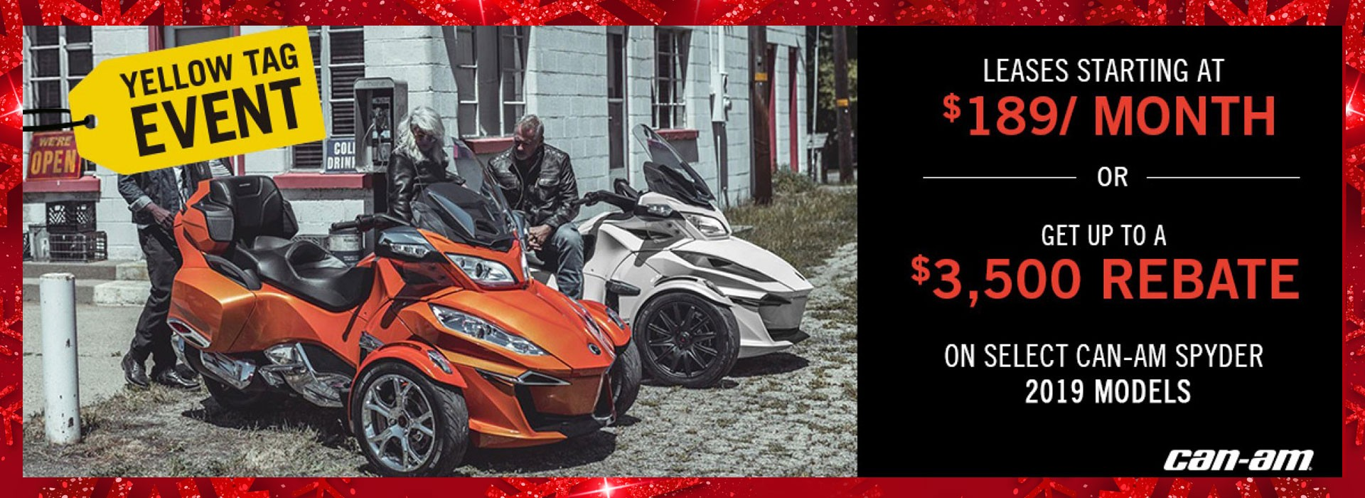 Yellow Tag Event - Can-am Spyder 2019 Models
