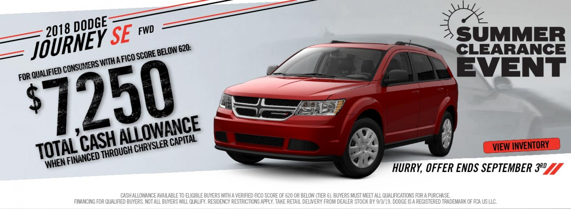 NonTX Dodge Journey Subprime