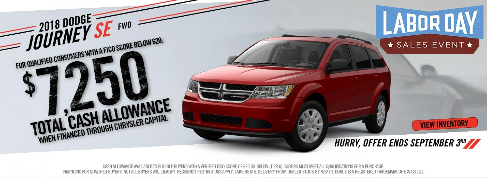 NonTX Dodge Journey Subprime LDSE