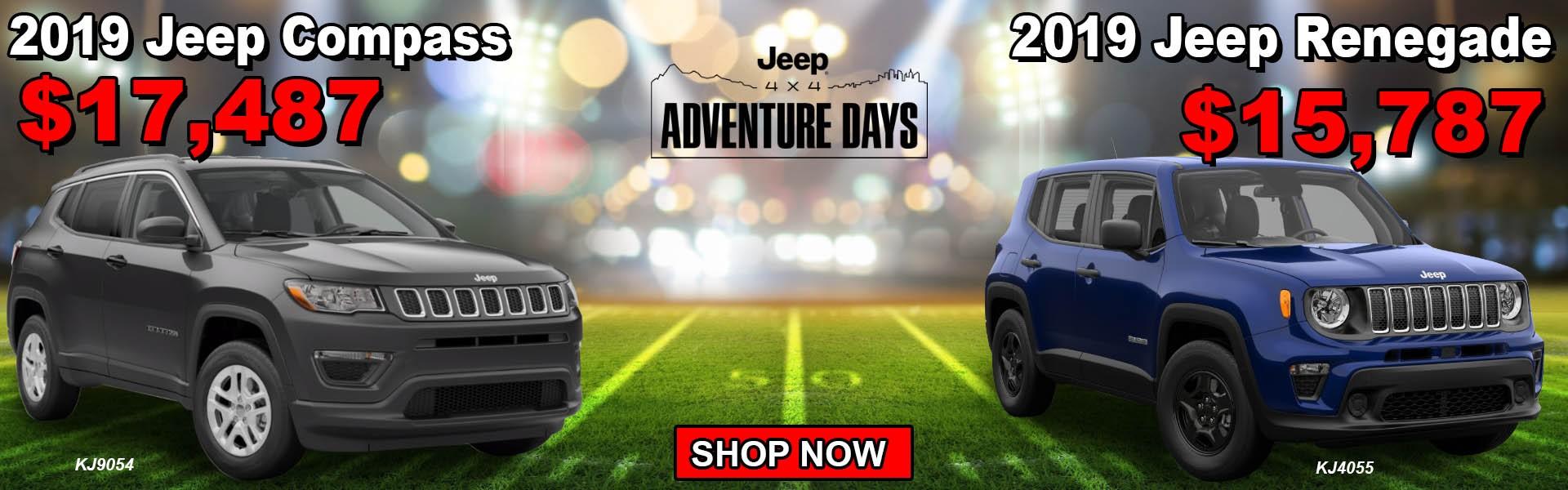 Sept 19 Jeep Compass Renegade
