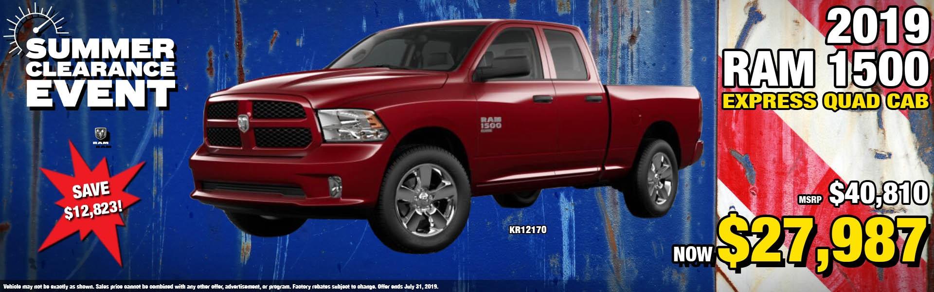 Ram 1500 QC KR12170