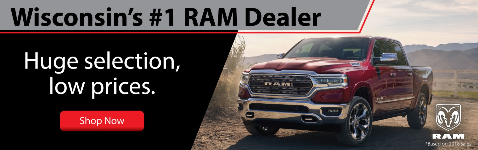 Wisconsins #1 RAM Dealer