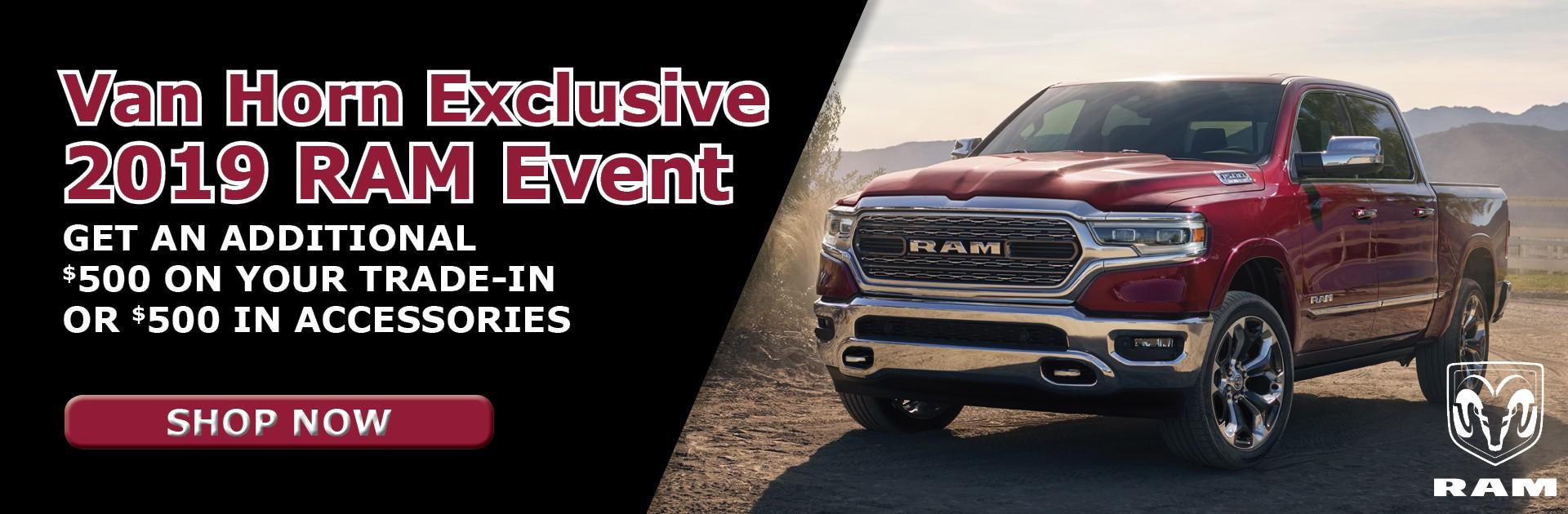 Van Horn Exclusive - 2019 Ram Event