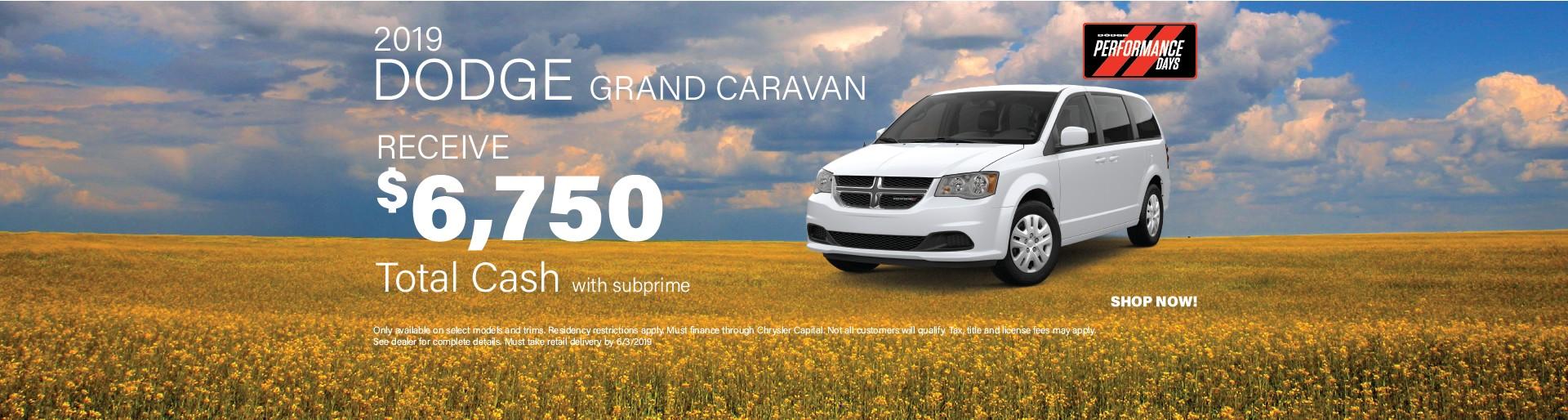 2019 Grand Caravan