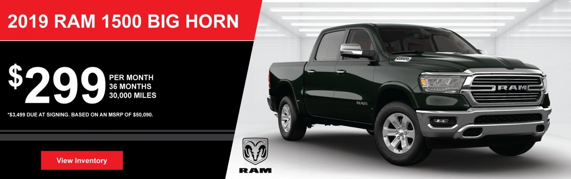 2019 RAM Big Horn