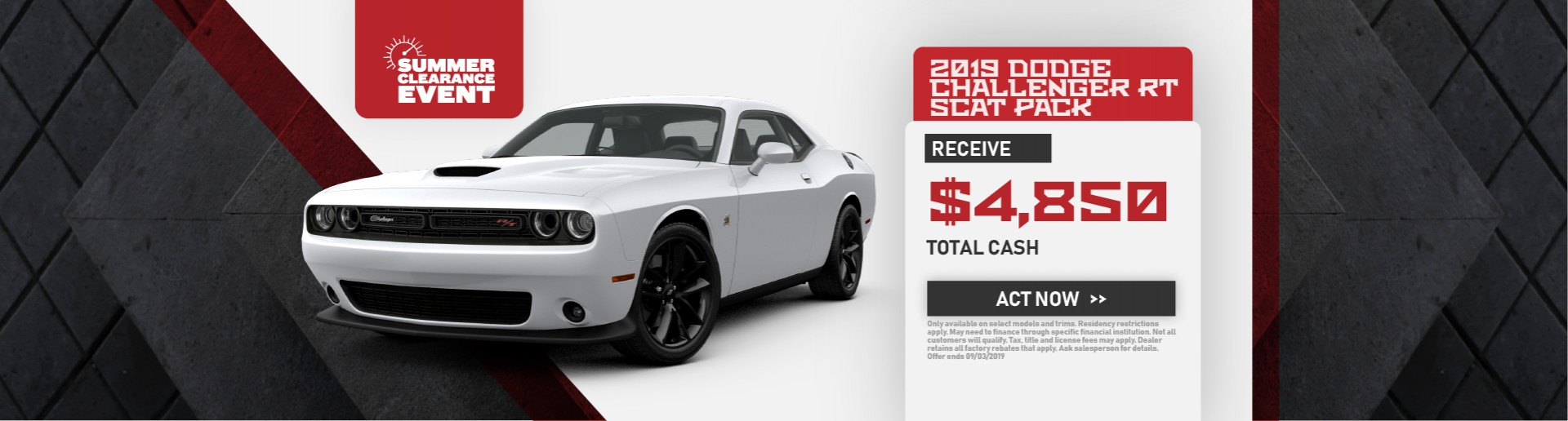 2019 Dodge Challenger RT Scat Pack