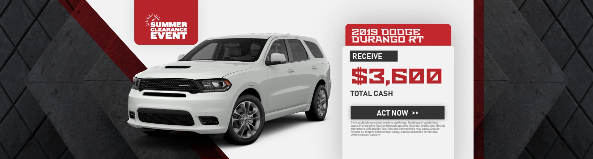 2019 Dodge Durango (RT)